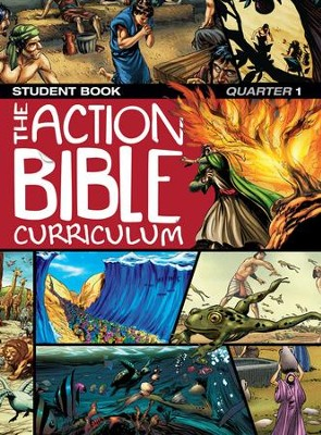 The Action Bible Curriculum Student Book Q1   -