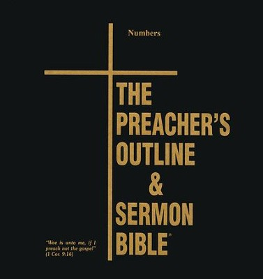 Numbers [The Preacher's Outline & Sermon Bible, KJV Deluxe]   -