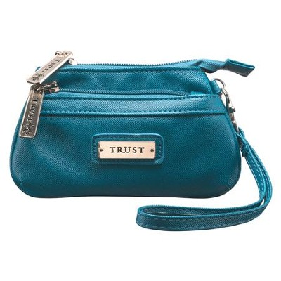 Trust Coin Purse, Blue  -