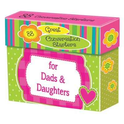 Conversation Starter Cards For Dads and Daughters  -