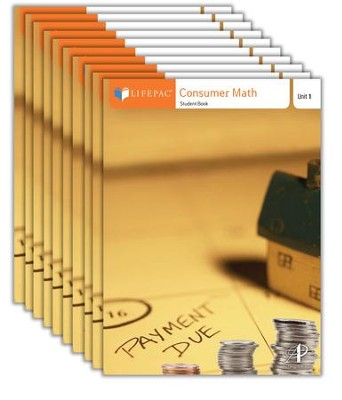 Consumer Math: LIFEPAC Electives Curriculum Kit   -