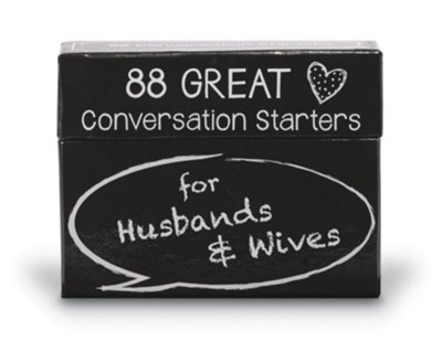 Conversation Starters for Husbands and Wives   -