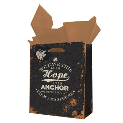Hope As An Anchor For the Soul Gift Bag, Medium  -