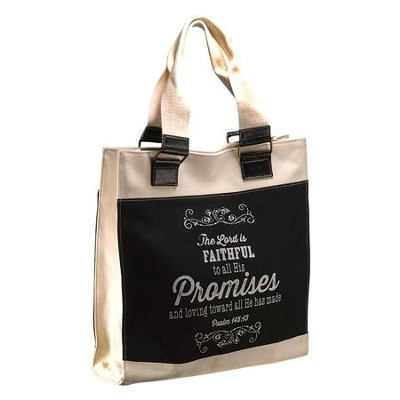 The Lord Is Faithful To All His Promises Tote Bag  -