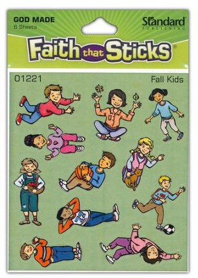 Stickers: Fall Kids  -