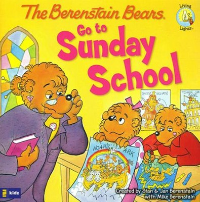 Living Lights: The Berenstain Bears Go to Sunday School  - Slightly Imperfect  -     By: Jan Berenstain, Mike Berenstain