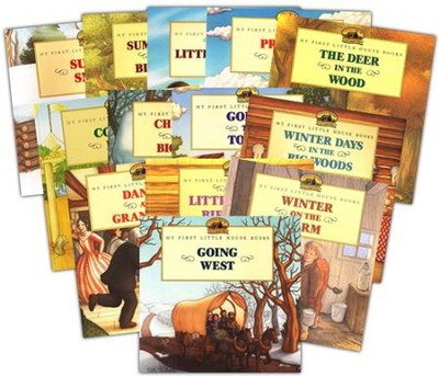 My First Little House Books Collection, 13 Volumes   -     By: Laura Ingalls Wilder