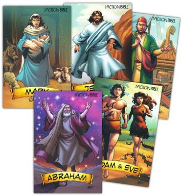 The Action Bible Take-Home Collector's Cards   -