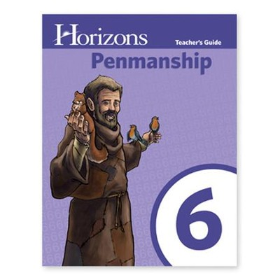 Horizons Penmanship 6 Teacher Guide   -