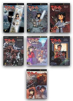 Tomo Graphic Novels, 7 Books   -     By: Andrew Simmons, Rob Corley, Jim Krueger