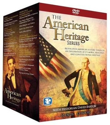 The American Heritage Series, 10 DVD Box Set (Repackaged)  -     By: David Barton