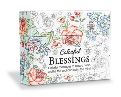 Coloring Cards - Colorful Blessings - Christianbook.com