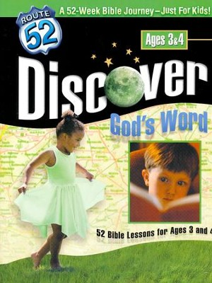 Discover God's Word: 52 Bible Lessons for Ages 3 and 4  -