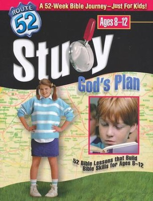 Study God's Plan: 52 Bible Lessons that Build Bible Skills for Ages 8-12  -