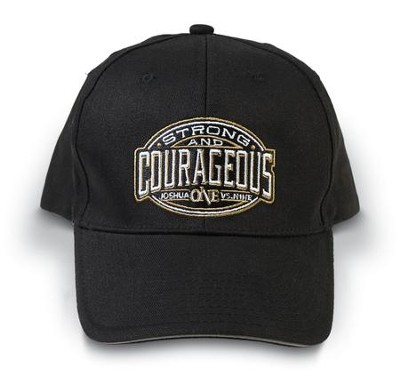 Strong and Courageous Cap, Black  -