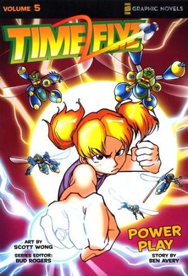 Power Play, Volume 5, Z Graphic Novels / TimeFlyz - Slightly Imperfect  -     By: Bud Rogers