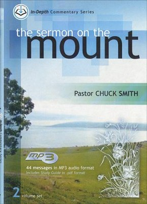 The Sermon on the Mount: In-Depth Commentary, MP3  -     By: Chuck Smith