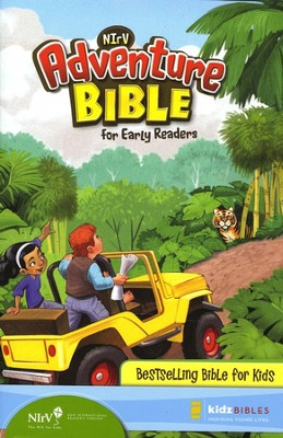 NIrV Adventure Bible for Early Readers, Updated, Hardcover  - Slightly Imperfect  -