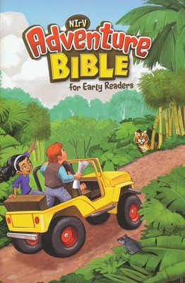 NIrV Adventure Bible for Early Readers, Updated, Softcover  - Slightly Imperfect  -
