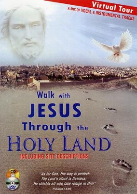 Walk with Jesus Through the Holy Land: An Audio/Video Pilgrimage, DVD and CD (Vocal and Instrumental Music)  -     By: David & The High Spirit