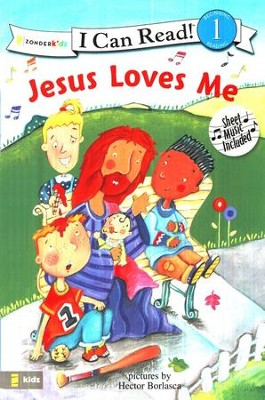 Jesus Loves Me, I Can Read! Song Series Level 1 (Beginning  Reading)  -     By: Hector Borlasca