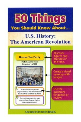 50 Things You Should Know About U.S. History: The American Revolution Flash Cards  -     By: Julie Eisenhauer
