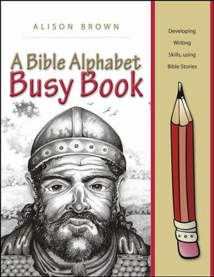 A Bible Alphabet Busy Book  -     By: Alison Brown