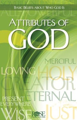 Attributes of God - eBook  -     By: Rose Publishing