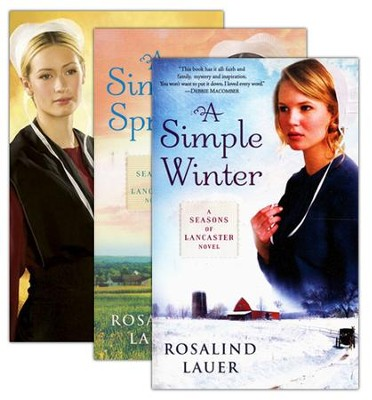 Seasons of Lancaster County Series, Volumes 1-3  -     By: Rosalind Lauer