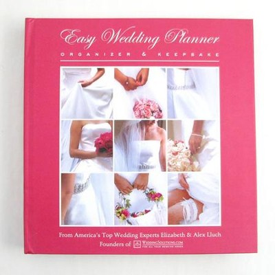 Easy Wedding Planner Organizer Keepsake
