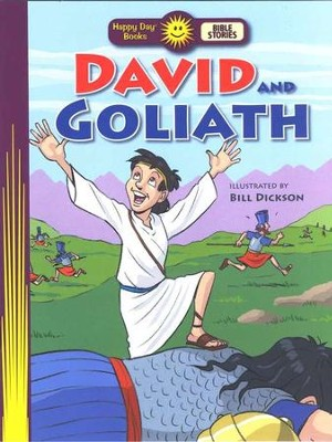 Happy Day Books, Bible Stories: David & Goliath   -
