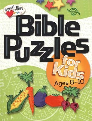 Bible Puzzles for Kids (Ages 8-10)   -
