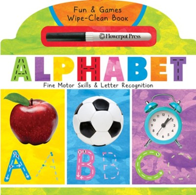 Alphabet: Fine Motor Skills and Letter Recognition  -