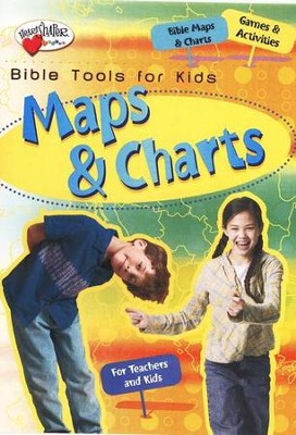 Maps & Charts CD-ROM (ages 6-12)   -