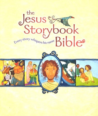The Jesus Storybook Bible, Deluxe Edition with CDs  - Slightly Imperfect  -