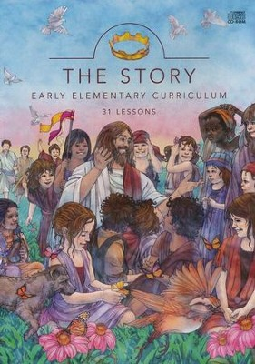 Story: Early Elementary Curriculum: 31 Lessons, CD-Rom - Slightly Imperfect  -