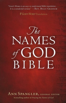 GWT The Names of God Bible, Hardcover   -     By: Ann Spangler
