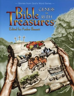 Bible Treasures: Genesis to Ruth, Grade K   -     Edited By: Amber Bennett     By: Edited by Amber Bennett