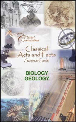 Classical Acts and Facts Science Cards: Biology and Geology  -