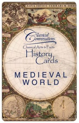 Classical Acts and Facts History Cards: Medieval World  -