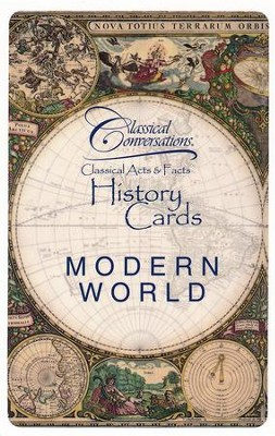 Classical Acts and Facts History Cards: Modern World  -