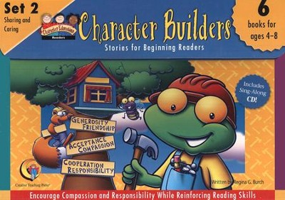 Character Builders Set 2: Sharing and Caring   -     By: Regina G. Burch
