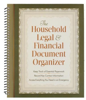 The Household Legal and Financial Document Organizer  -