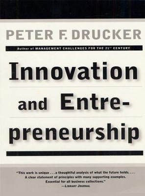 Innovation and Entrepreneurship - eBook  -     By: Peter F. Drucker
