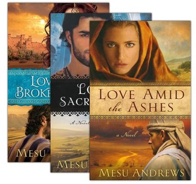 Treasures of His Love Series, Vols 1-3   -     By: Mesu Andrews