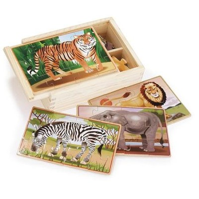 Wild Animals in a Box   -     By: Melissa & Doug