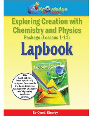 Apologia Exploring Creation with Chemistry and Physics  Lapbook Package Lessons 1-14 (Assembled Edition)  -     By: Cyndi Kinney