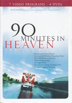 90 Minutes in Heaven DVD, 4 DVD's   -     By: Don Piper, Cecil Murphey