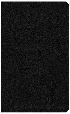 Biblia del Ministro RVR 1960, Piel Imit. Negra  (RVR 1960 Minister's Bible, Black Imitation Leather) - Imperfectly Imprinted Bibles  -
