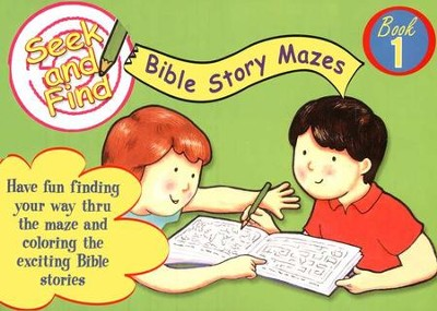 Seek and Find Bible Mazes #1  -
